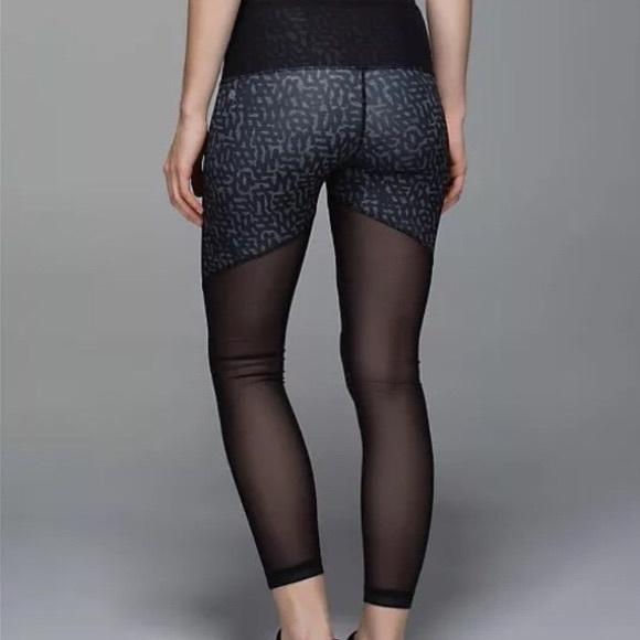 d7bc3db066 lululemon athletica Pants - Lululemon mesh back leggings Worn once! Size 6