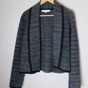 LOFT Gray Soft Jacket-Size L