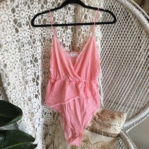 Other - Vintage Pink Bodysuit