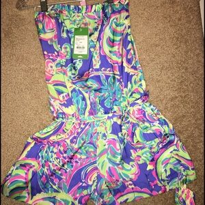 Lily Pulitzer romper. New with tags!!