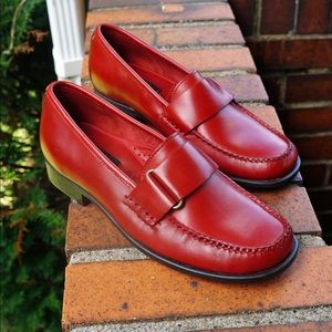 Bass Weejuns Loafers in Red, G. H. Bass & Co.