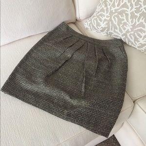 Glittery textured skirt