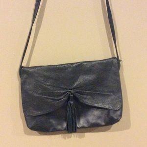 Handbags - 💗Vintage Leather Tassel Shoulder Bag/Clutch