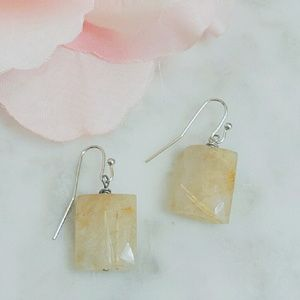 Jewelry - Rutilated Quartz earrings