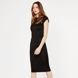 Zara Dresses & Skirts - Zara Black Midi Dress