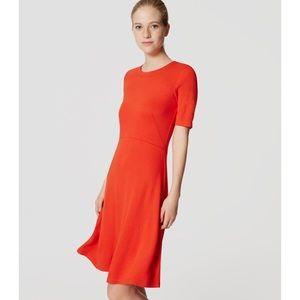 LOFT Dresses & Skirts - NWT LOFT Short Sleeve Flare Dress
