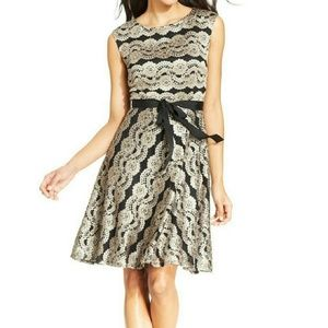 SL Fashions Dresses & Skirts - SL Fashions Lace Boatneck Dress