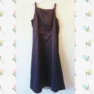 Onyx Dresses & Skirts - *Sale* Brand Prom/Bridesmaid Brown Burgandy Dress