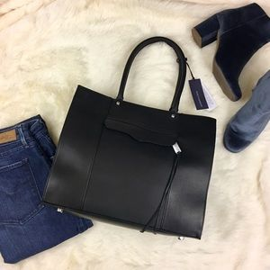 Rebecca Minkoff Handbags - Rebecca Minkoff Medium MAB Tote in Black