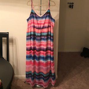 Lane Bryant Dresses & Skirts - Lane Bryant - Multicolored Maxi Dress