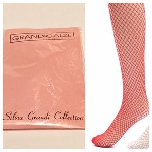 New Grandicalze Red Fishnets, Trouser Height