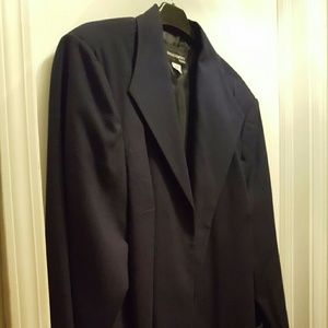 Requirements  Jackets & Blazers - 🤗 What a Steal! NwT Plus Navy Blazer
