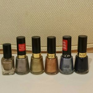 Revlon Metallic Nail Polishes
