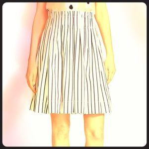 Kate Spade broome street striped skirt NWT