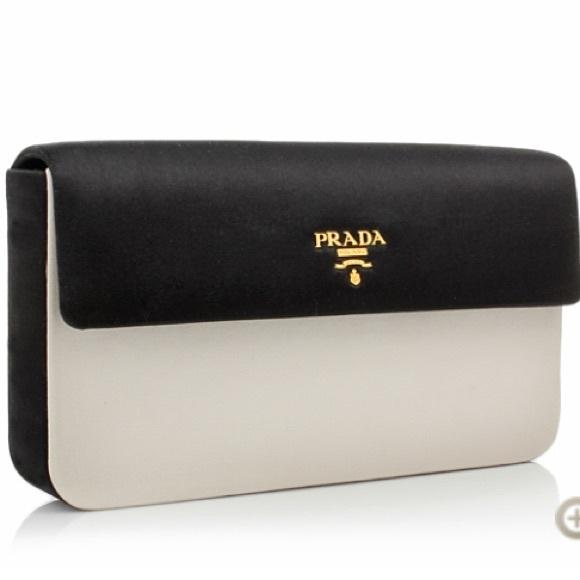 fe54485c0e Prada Bags | Raso Pochette Talconero Clutch | Poshmark