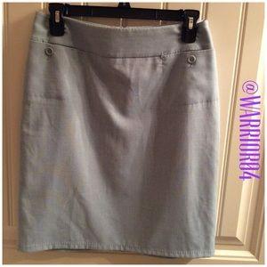 Dresses & Skirts - Light Blue Skirt  Fully Lined Size 2