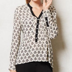 Anthropologie Vanessa Virginia Honore Buttondown