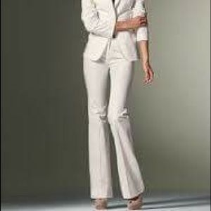 Victoria's Secret Pants - Victoria's Secret White Work Slacks Size 2