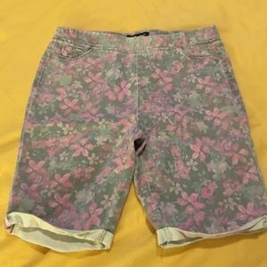 💖 Tractor Bermuda shorts for girls