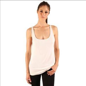 Sale! White Ribbed Knit Tank
