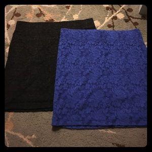 PacSun Dresses & Skirts - Lace mini skirts Bundle!