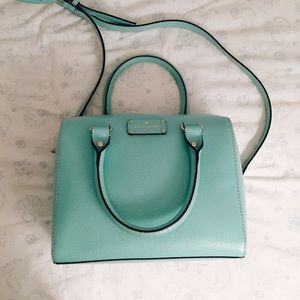 Kate Spade Alessa Wellesley Mint Satchel