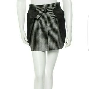 Alexander Wang Dresses & Skirts - Alexander Wang Pinstripe Layered Mini