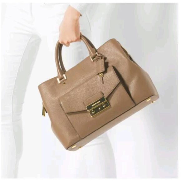 42% off Michael Kors Handbags - Michael Kors Haley Large Leather ...