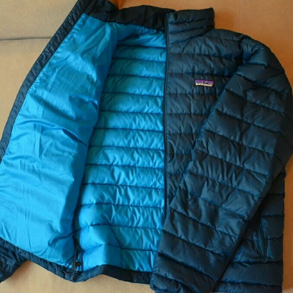 43% off Patagonia Other - Deep Sea Blue Patagonia Down Sweater ...