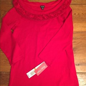 NWT small sweater