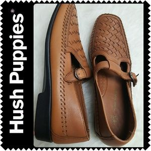 Hush Puppies Shoes - Hush Puppies Leather Loafers
