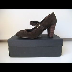 n.d.c. Shoes - NWT ndc brown suede Mary Jane pumps