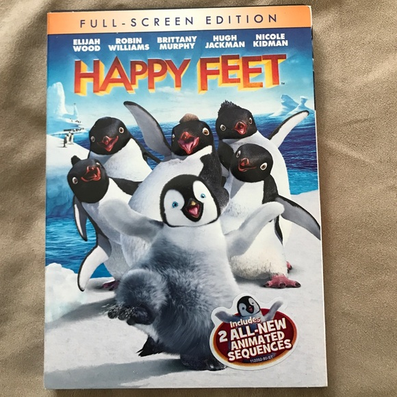 Happy feet full screen DVD