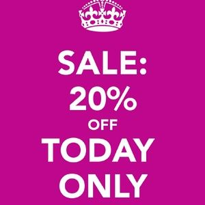 TODAY ONLY FLASH SALE 3+ ITEMS