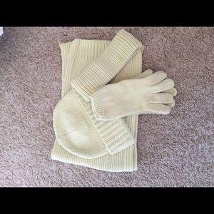 Scarf Hat Gloves Headband