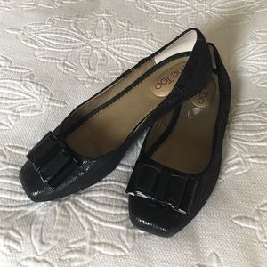 Black Flats Size 7