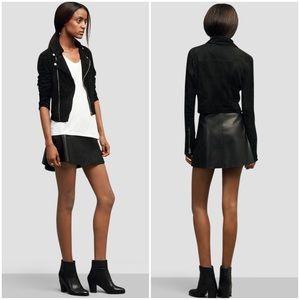 Kenneth Cole Jackets & Blazers - Kenneth Cole Black Suede Moto Jacket