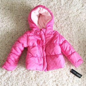 Steve Madden Other - STEVE MADDEN [baby girl] Pink winter Puffer Coat