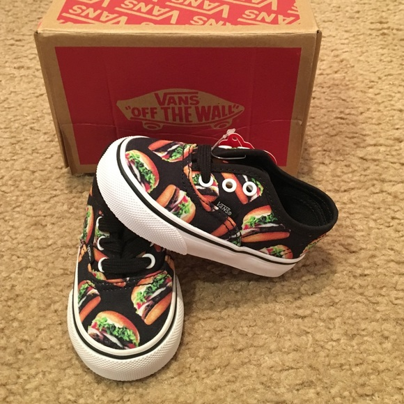d3c56abb0d Late Night Authentic Hamburger Kids Vans