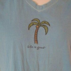 Life is Good Tops - Life is Good palm tee