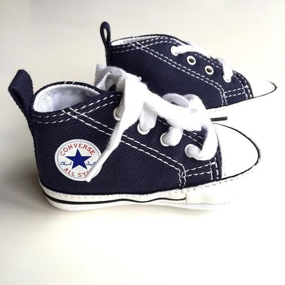 16ed6a9c8ef2 Infant Cons Chuck Taylor First Star Crib Shoe Sz 2