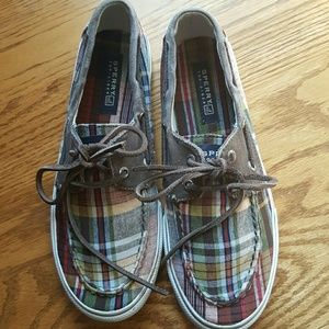 Sperry Other - Plaid Sperry TOP-SIDER Boy shoes