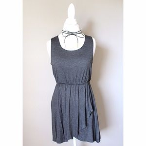 Dresses & Skirts - 💐 Sleeveless Charcoal Dress Racer Back