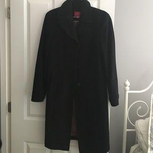 Cole Haan Black Dress Coat