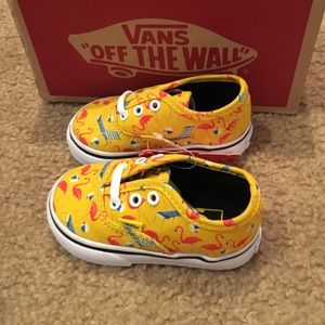 a485ec7d103 Vans Shoes - Authentic Vans Cyber Yellow Pool Vibes sneakers