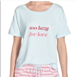 Honeydew Intimates Tops - HONEYDEW INTIMATES TOO LAZY FOR LOVE TEE 💜