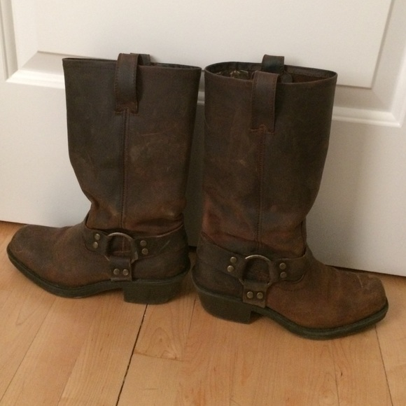 Size 65 Mossimo Brown Leather Boots