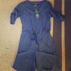 Other - Ralph Lauren Navy Romper