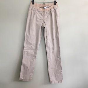 Like new, Beige khaki maternity pants