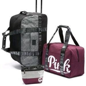 PINK Victoria's Secret - ISO! Vs pink luggage. from Brittny's ...